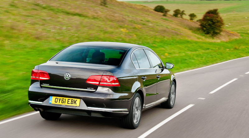 A Volkswagen Passat Diesel from 2011. Software updates after the Dieselgate-scandal in 2015 improved NOx-Emissions of such cars significantly. Image: Volkswagen