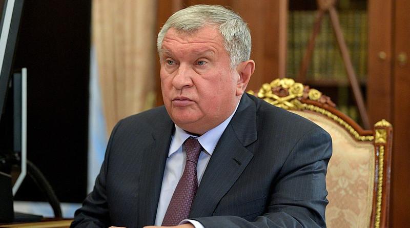 Rosneft CEO Igor Sechin. Photo Credit: Kremlin.ru
