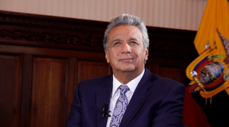 Ecuador's President Lenin Moreno. Photo Credit: Ecuador President's Office