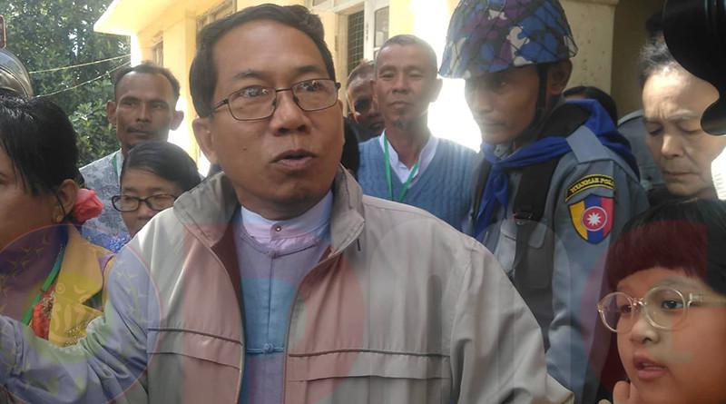 Myanmar's Dr. Aye Maung. Photo Credit: DMG