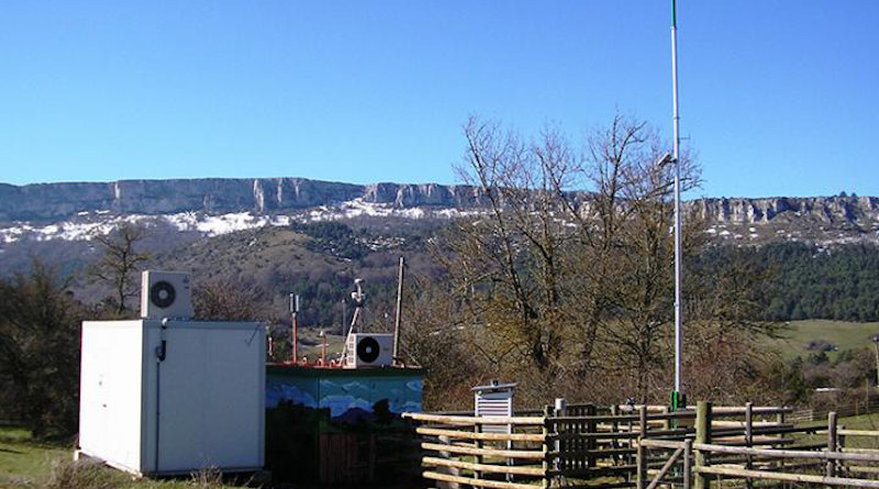 Weather station at the Valderejo Nature Reserve (Basque Country, Spain), where the study was conducted CREDIT UPV/EHU