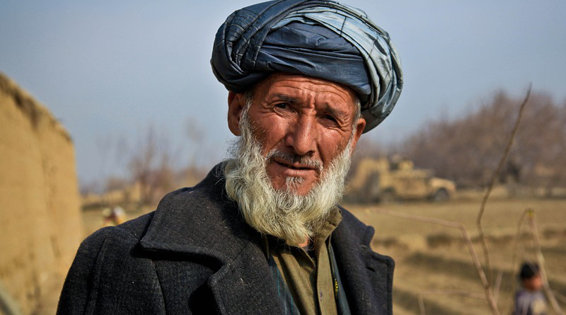 Elderly Man Old Afghanistan Person Turban