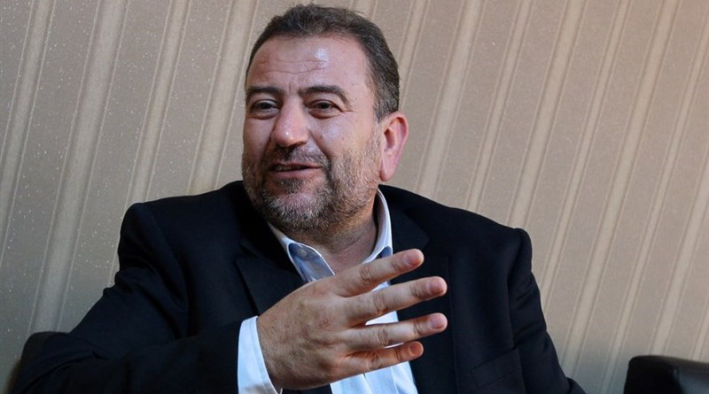 Deputy Head of Hamas' Political Bureau Saleh al-Arouri. Photo Credit: Tasnim News Agency