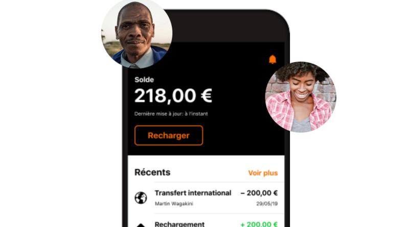 Screenshot of Orange Money app. Photo Credit: Orange