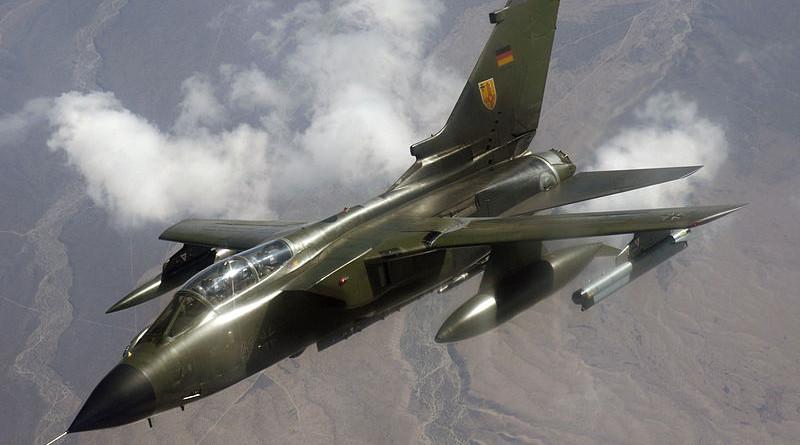 A German Luftwaffe Tornado. Photo Credit: Master Sgt. Kevin J. Gruenwald, U.S. Air Force