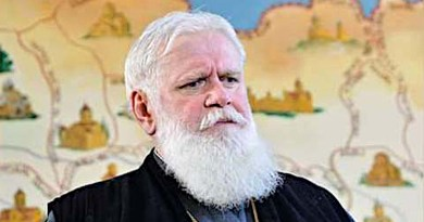 Metropolitan Bishop of Vani and Baghdati Eparchy (diocese) of the Georgian Orthodox Church, Anton Bulukhia. Photo Credit: Vani and Baghdati Eparchy Facebook page.