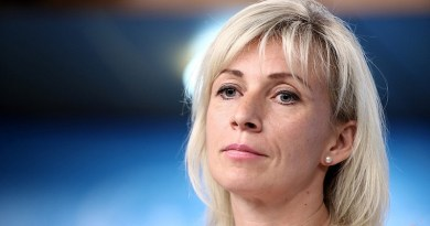Russian Foreign Ministry Spokeswoman Maria Zakharova. Photo Credit: MID.ru