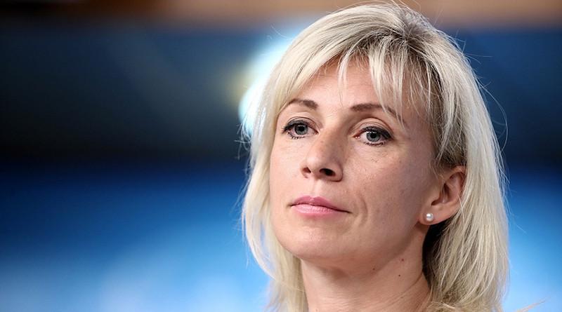 Russian Foreign Ministry Spokeswoman Maria Zakharova. Photo Credit: MID.ru
