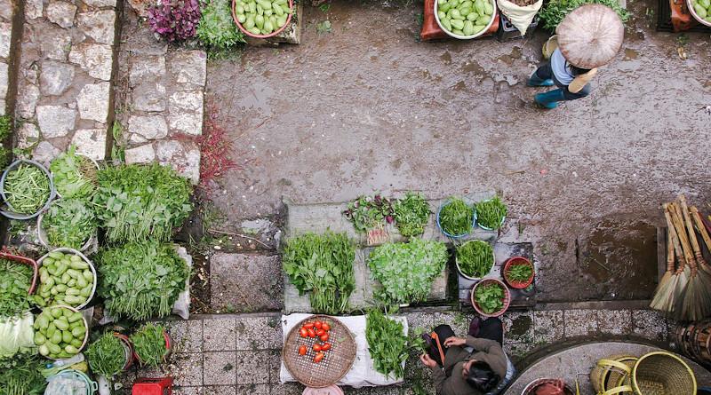 Market Vegetables Garden Asia
