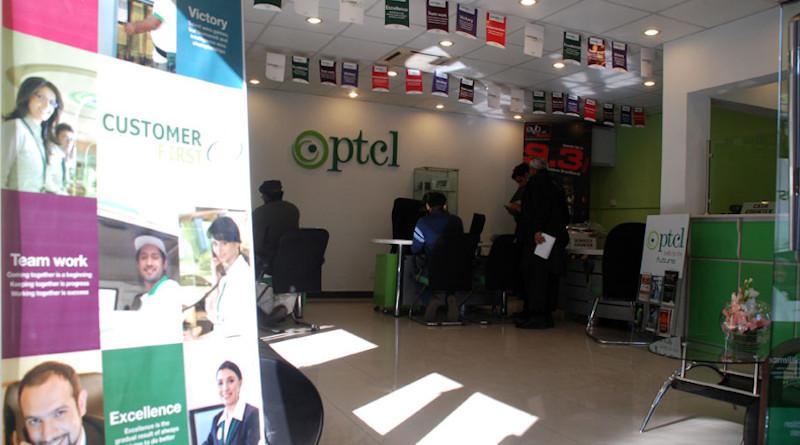 A Pakistan Telecommunication Company Limited (PTCL) service center. Photo Credit: PTCL