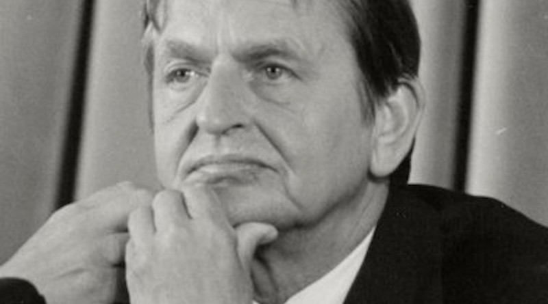 Sweden's Olof Palme. Photo Credit: Ministry of the Presidency. Government of Spain