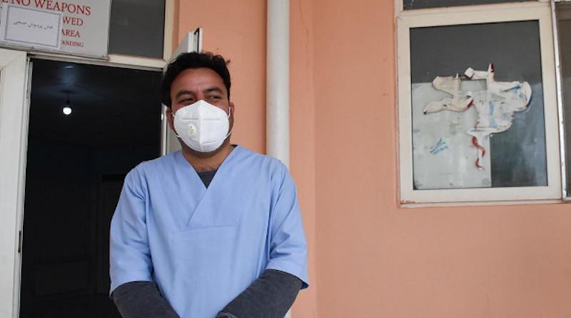 Health worker in Afghanistan. Photo Credit: OCHA, Linda Tom