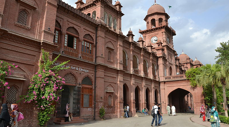 University of the Punjab, established in 1882 in Lahore, Pakistan. Photo Credit: Lime.adeel, Wikipedia Commons