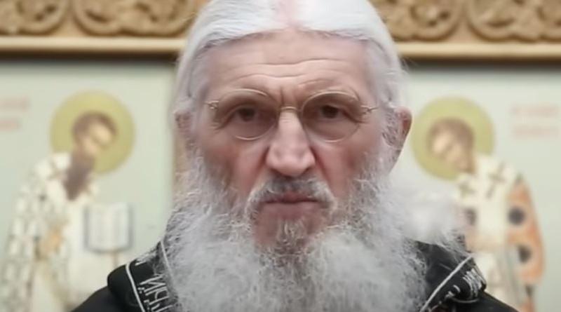 Father Sergiy Romanov. Photo Credit: Screenshot via RFE/RL