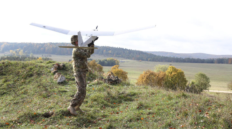 Wings on fixed-wing small unmanned aerial systems, like the RQ-20A Puma, launched by Soldiers could soon have improved designs, thanks to a tool designed by Army researchers. CREDIT (Spc. Brian Chaney)