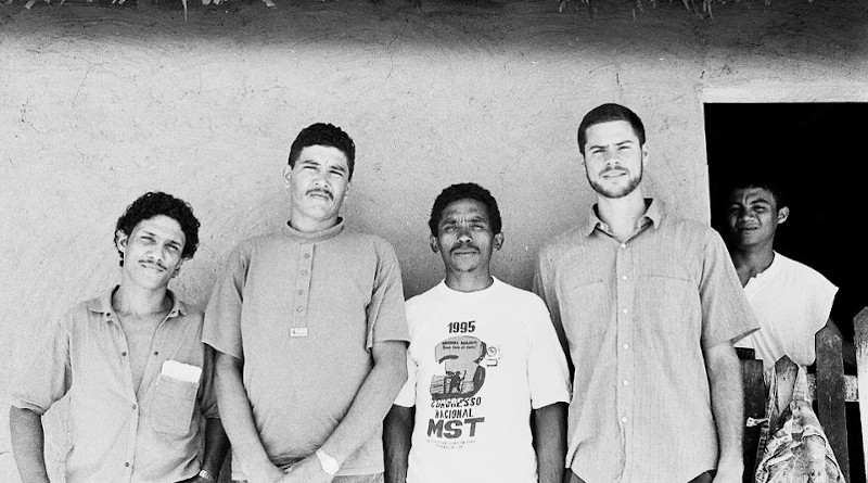 The author (second from right) in Maranhão, Brazil, 1995