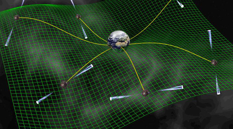 On a quest to find the Universe's largest black holes, Vanderbilt researcher identifies the center of the solar system within 100 meters. CREDIT: David Champion