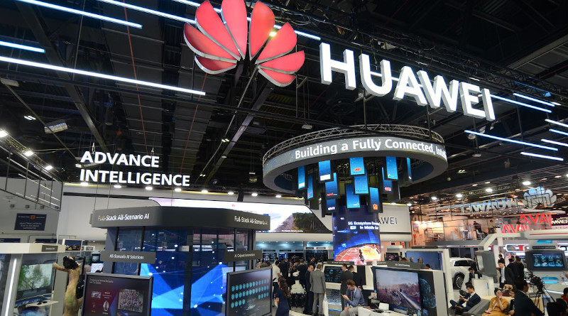 Huawei during its fourth annual Middle East Innovation Day during GITEX Technology Week at the Dubai World Trade Centre. (October 6-10, 2019)