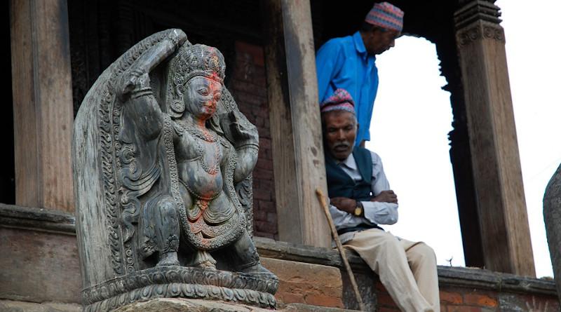 Men Nepal People Temple
