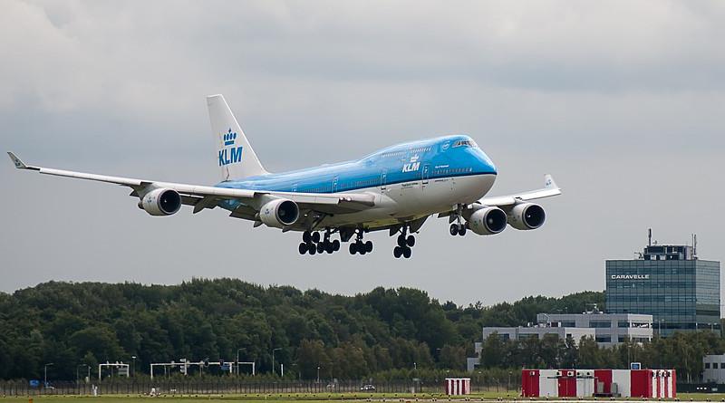 Plane Runway Klm Airline Airport Schiphol Airplane