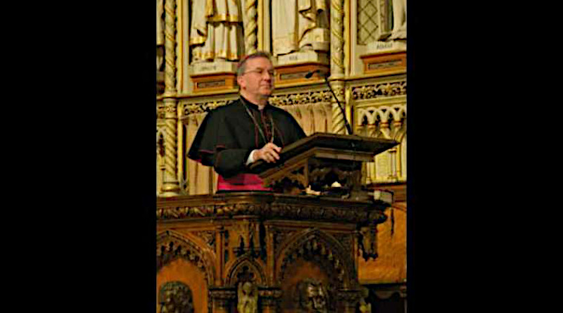 Archbishop Luigi Ventura, then-Apostolic Nuncio to Canada, speaks at a Mass and Concert held in Ottawa, April 2, 2009. Credit: Bruce MacRae via Flickr (CC BY-NC-SA 2.0)