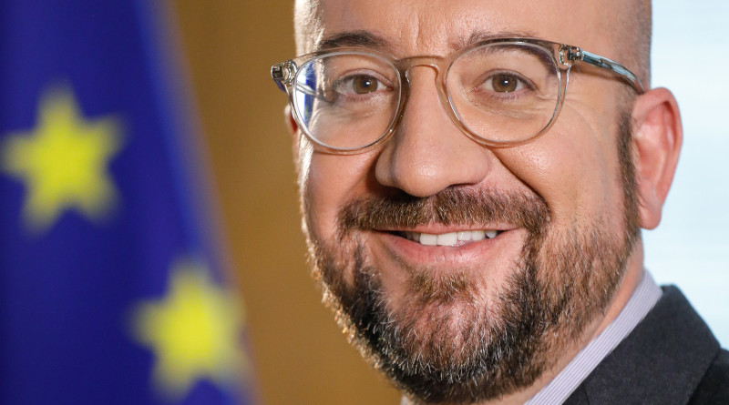 Charles Michel, President of the European Council. Photo Credit: European Union, Wikipedia Commons