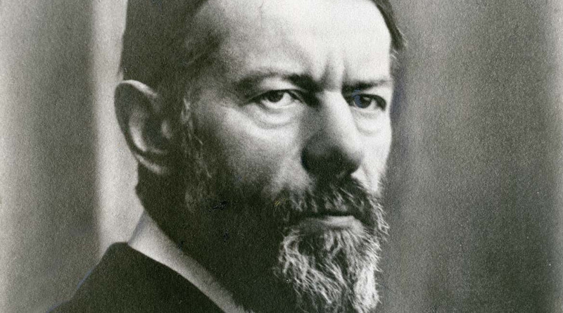 Max Weber, 1918. Credit: Wikipedia Commons