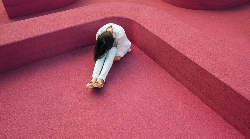 Girl Upset Sad Depressed Hipster Woman Lady