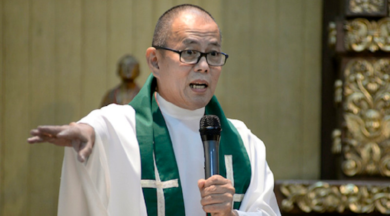 Father Robert Reyes is a known critic of Philippine President Rodrigo Duterte. (Photo: Maria Tan, UCAN)