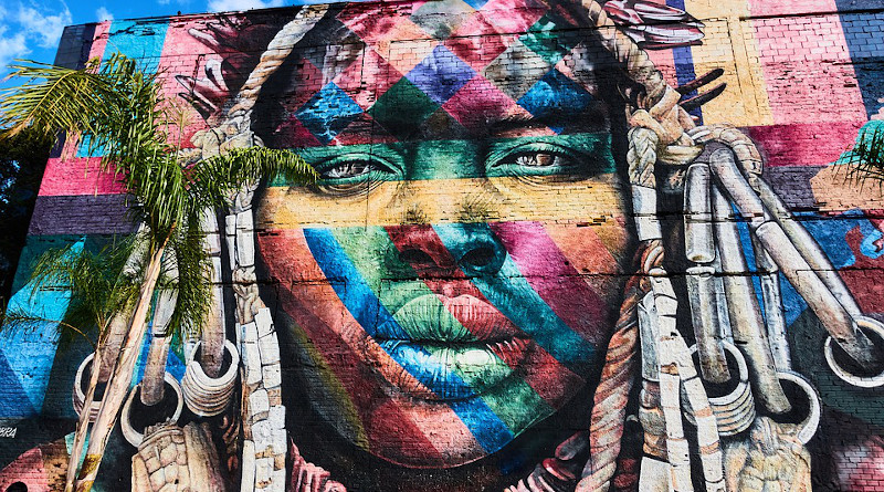 Rio De Janeiro Brazil Grafitti Olympic Boulevard Art