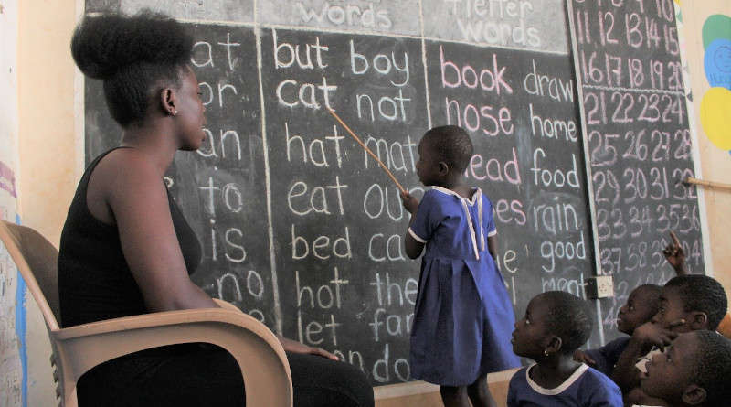 GHEI education program in Ghana