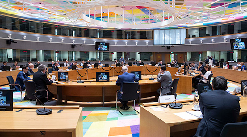 Video conference of EU Foreign Affairs Ministers (Defence) - June 2020. Photo: © European Union