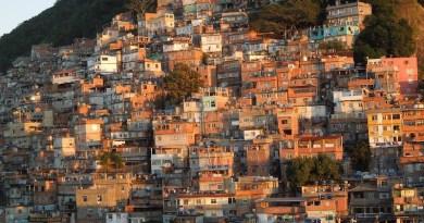 Brazil Favela Slum Rio De Janeiro Sunrise