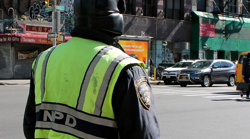 Police Street Megalopolis Road United States New York City
