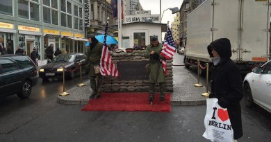 Checkpoint Charlie Berlin Germany Military United States Flag