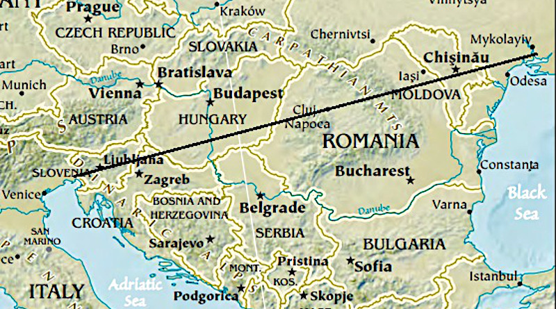 The Balkan region. Credit: CIA World Factbook