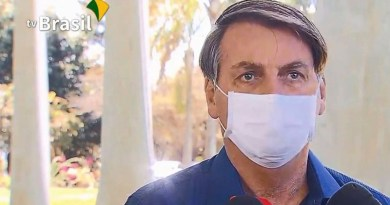 Brazil's President Jair Bolsonaro. Photo Credit: Screenshot TV Brasil, ABr