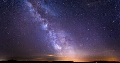 Starry Sky Milky Way Galaxy Long Exposure Star
