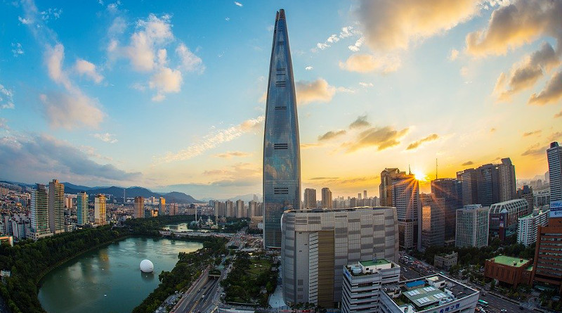 Lotte World Tower Seoul Republic Of Korea South Korea