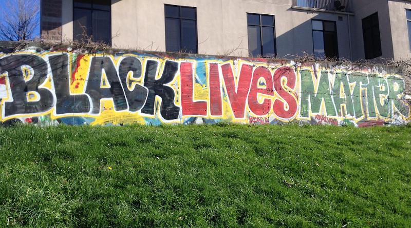BLM Black Lives Matter African American Graffiti