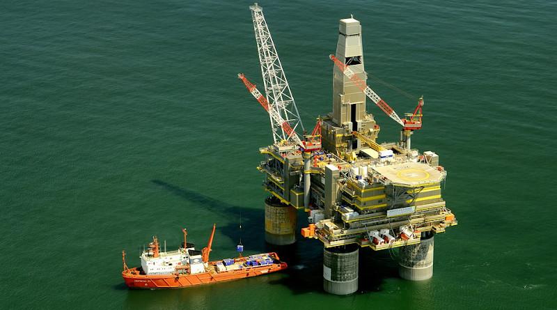 Russia Oil Platform Rig Boat Ship Sea Ocean