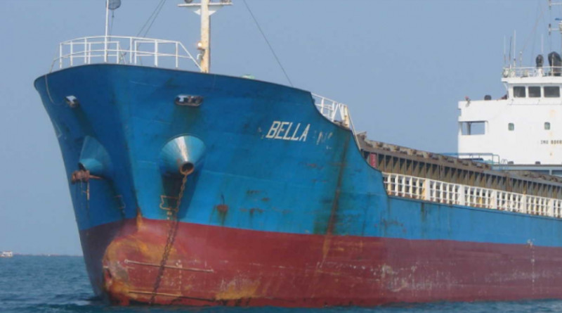 Photo of the M/T Bella, seized by the US for transporting Iranian fuel to Venezuela. Photo Credit: US Justice Department