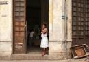 Cuba Doors Architecture Havana Woman