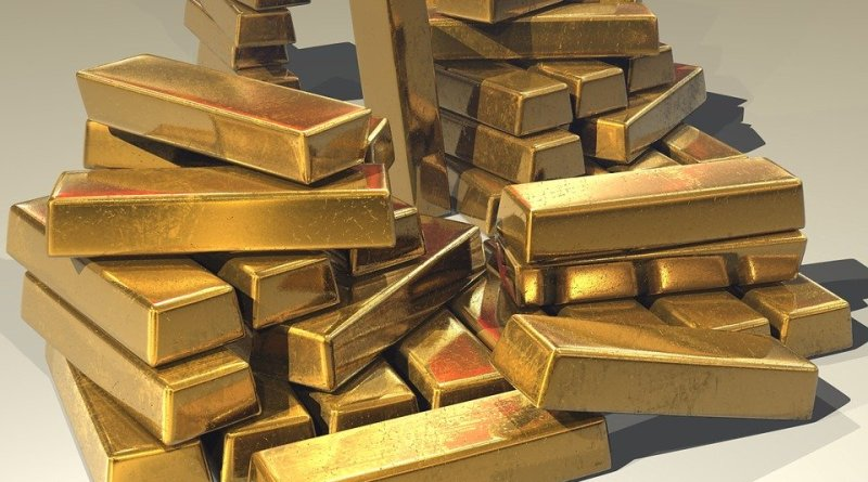 Bars Gold Ingots Golden Treasure Bullion Precious