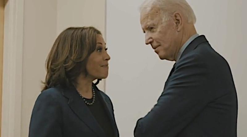 Kamala Harris and Joe Biden. Photo Credit: joebiden.com video screenshot