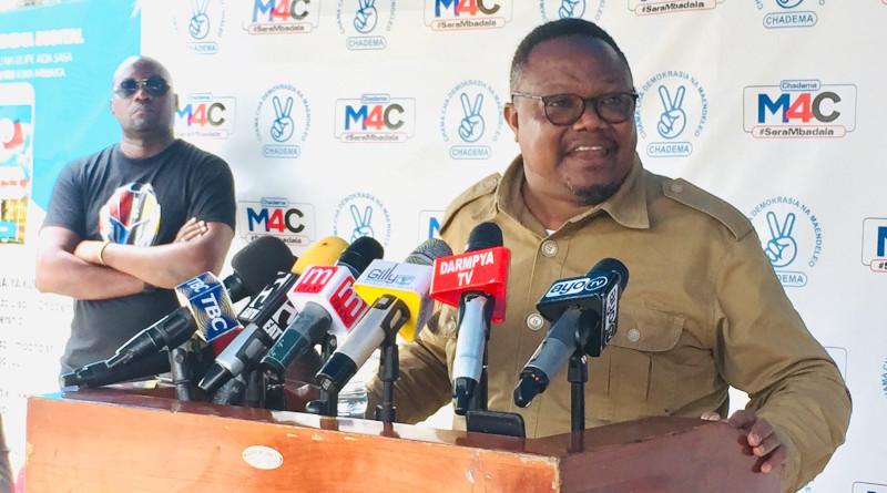 Tanzania's opposition candidate Tundu Lissu