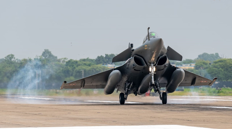 An Indian Air Force (IAF) Rafale jet. Photo Credit: Indian Air Force