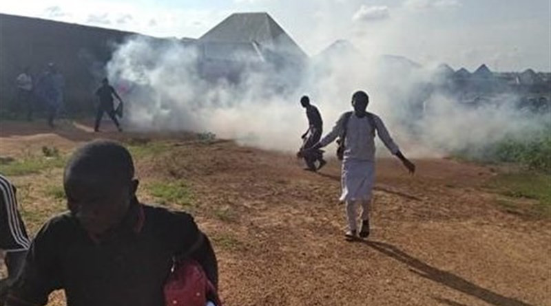 Nigerian police attacked mourners marking the martyrdom anniversary of Imam Hussein. Photo Credit: Tasnim News Agency