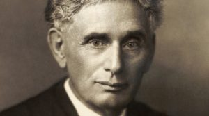 U.S. Supreme Court justice Louis Brandeis. Photo Credit: Library of Congress Prints and Photographs Division