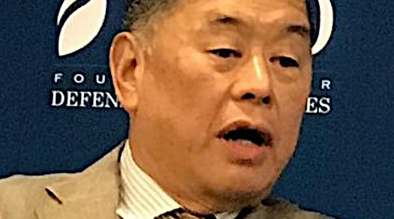 Jimmy Lai. Photo Credit: 美国之音莉雅, Wikimedia Commons